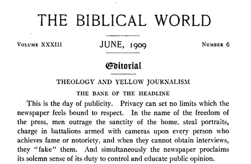 yellow journalism and mass media essay Thematic essay question cultural and intellectual life—infl uence of mass media yellow journalism—william randolph hearst and joseph pulitzer.